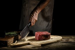 Sato Forged Heavy-Duty Meat Cleaver and Chopping Butcher Knife: Cuts Like It Should