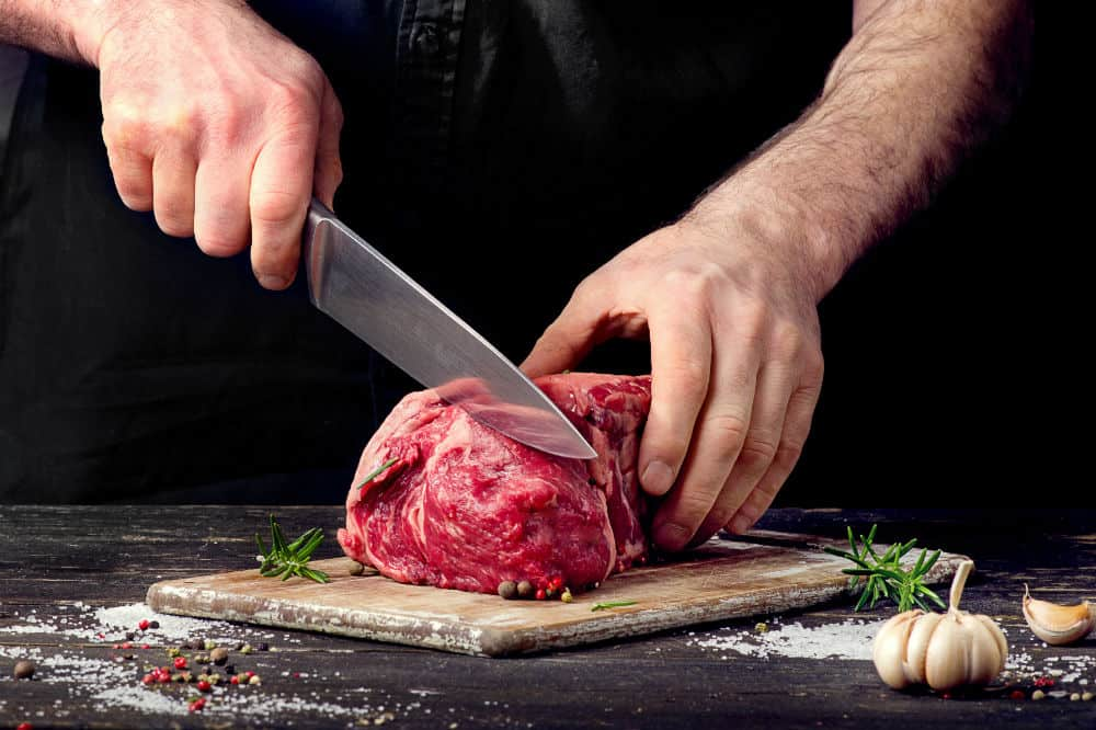 Zelite Infinity Cleaver Knife A Kitchen Tool for Home and Professional Use